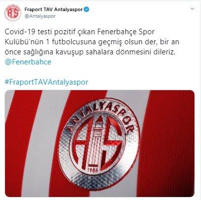son dakika fenerbahcede corona virusu soku bir futbolcu 1598262708295 - Son dakika: Fenerbahçe'de corona virüsü şoku! Bir futbolcu...