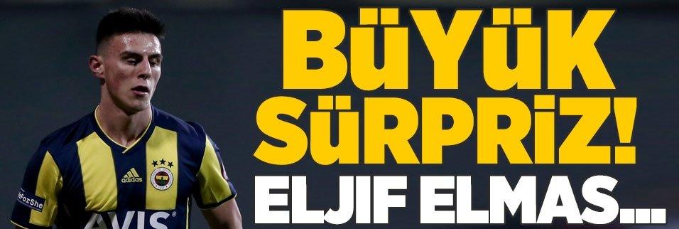 Büyük sürpriz! Eljif Elmas...