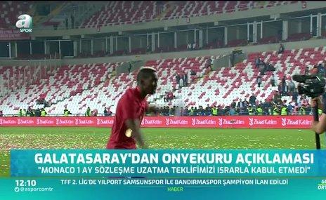 Galatasaray: Onyekuru ve kulübüne borcumuz bulunmamaktadır