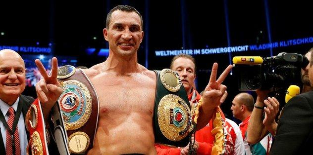 Klitschko'dan emeklilik kararı