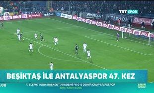 Beşiktaş ile Antalyaspor 47. kez
