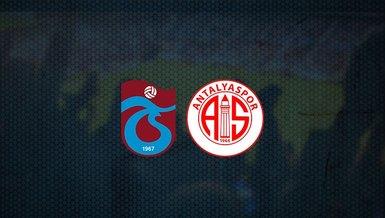 Trabzonspor - Antalyaspor maçı ne zaman, saat kaçta ve hangi kanalda canlı yayınlanacak? | Süper Lig