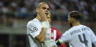 Pepe hayali suya düştü