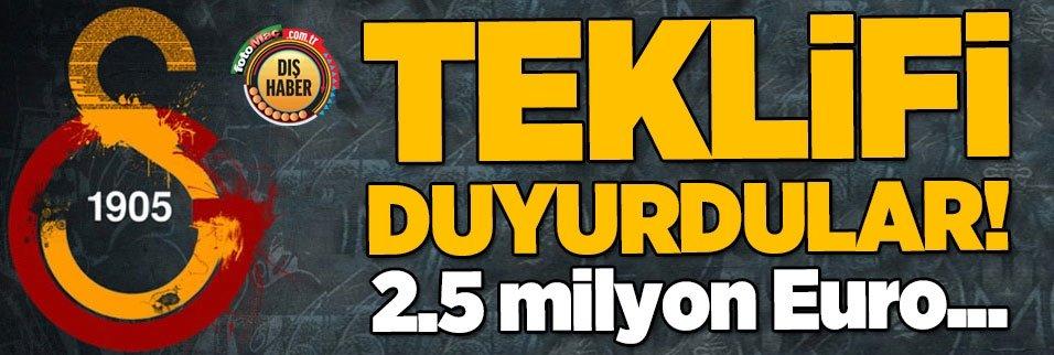 """galatasarayin teklifini duyurdular 25 milyon euro 1593337958547 - Adı Galatasaray ile anılıyordu açıkladı! """"Teklif..."""""""