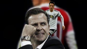 """Almanya'dan Mesut Özil açıklaması! """"Masaya oturursa..."""""""