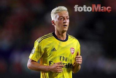Emery'den Mesut Özil ile ilgili şok sözler