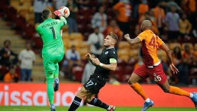 Son dakika spor haberi: Fernando Muslera Galatasaray Lazio maçında korkuttu