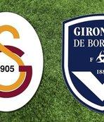 Galatasaray Bordeaux maçı ne zaman, saat kaçta, hangi kanalda? GS Bordeaux ilk 11?
