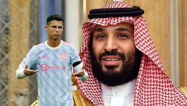 Newcastle'ın yeni sahibi Muhammed bin Selman'dan Cristiano Ronaldo'ya kötü haber! O ismi transfer edecek