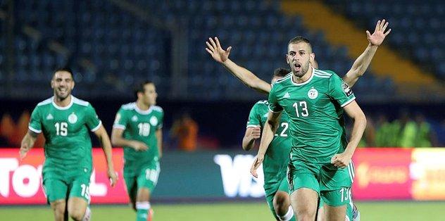 Cezayir yarı finalde Nijerya'nın rakibi oldu