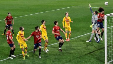Osasuna-Barcelona: 0-2 (MAÇ SONUCU-ÖZET)