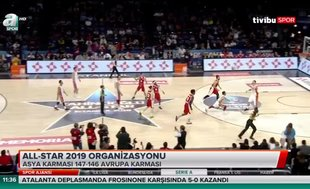 All-Star 2019 organizasyonu