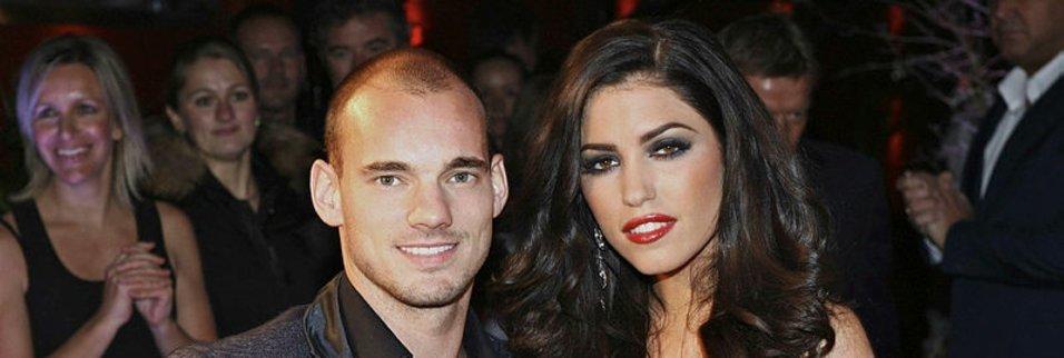 Şok iddia! Yolanthe Cabau Sneijder'i aldattı mı?