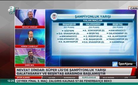 """""""Başakşehir 3 puan önde gelirse G.Saray şampiyon olur"""""""
