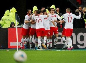 Fransa-Türkiye maçından kareler!