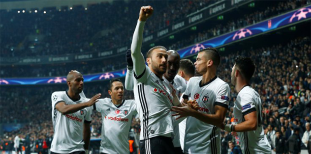 UEFA Şampiyonlar Ligi'nde Beşiktaş rekor kırdı! Fenerbahçe ve Galatasaray...