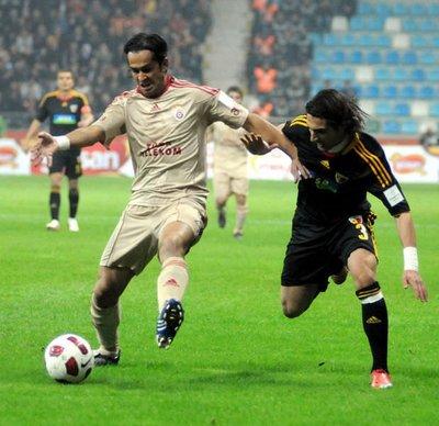 Kayserispor - Galatasaray (Spor Toto Süper Lig 13. hafta mücadelesi)