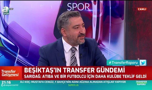 Beşiktaş'ın 2 yıldızına teklif var! Canlı yayında açıkladı