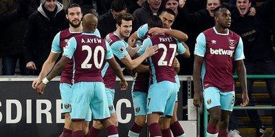 West Ham 4 köşe!