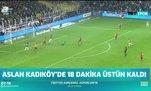 Galatasaray Kadıköy'de 18 dakika üstün kaldı