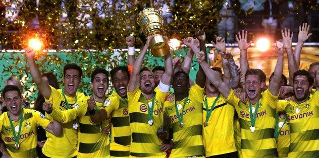 Almanya Kupası'nı Dortmund kazandı