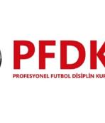 PFDK'dan kulüplere ihtar!