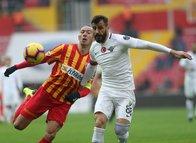 Kayserispor - Akhisarspor maçından kareler!