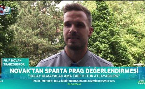 Filip Novak'tan Sparta Prag yorumu