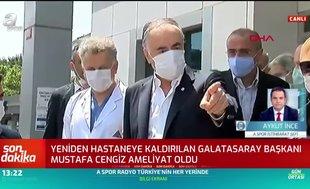 """Aykut İnce açıkladı! """"Mustafa Cengiz mide ameliyatı oldu"""""""