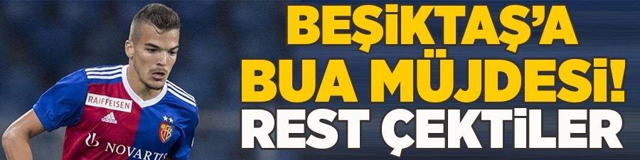 Beşiktaş'a Bua müjdesi! Rest çektiler