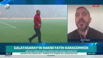 """Maç öncesi flaş sözler! """"Fatih Terim'in tribünde olması..."""""""