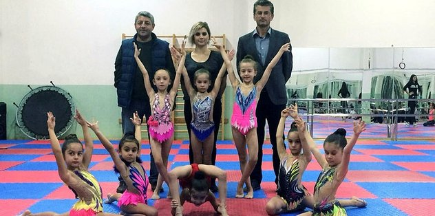 DSİ Spor'dan cimnastik atağı