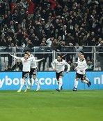 Derbide zafer Beşiktaş'ın! Yer siyah gök beyaz