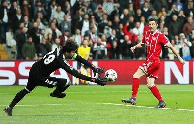 Beşiktaş - Bayern Münih maçından kareler
