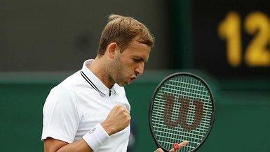 Son dakika spor haberi: Wimbledon Tenis Turnuvası'nda Dan Evans 3. tura yükseldi