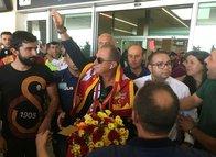 Galatasaray kaflesine Konya'da coşkulu karşılama