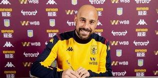 Ex-Liverpool goalkeeper Reina joins Aston Villa on loan