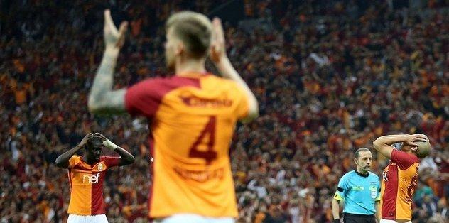 Galatasaray'da erken değişiklik! Sakatlık...