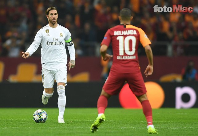 Real Madrid maçında Belhanda'dan Galatasaray taraftarlarına şok küfür