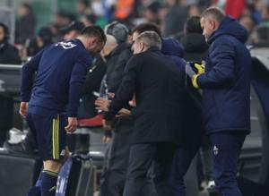 Valbuena'dan Ersun Yanal'a skandal hareket! Yüzüne...
