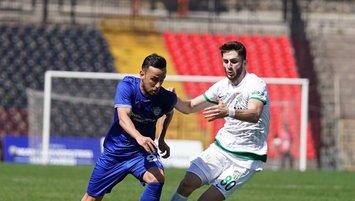 Tuzlaspor ve Bursaspor puanları paylaştı