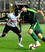 Bursaspor hazırlık maçında Ümraniyespor'u 2-1 yendi
