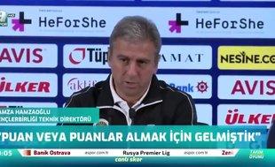 Hamzaoğlu: Fenerbahçe hak ettiği bir galibiyet aldı