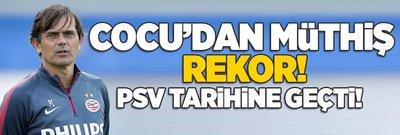 Cocu'dan tarihi rekor