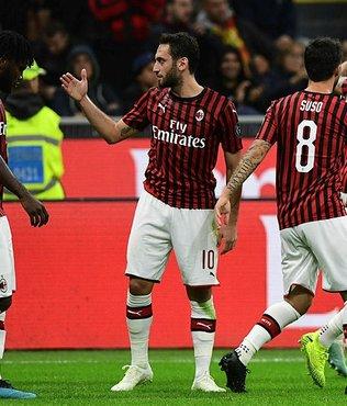 Hakan Çalhanoğlu'nun yıldızlaştığı maçta Milan Lecce ile yenişemedi
