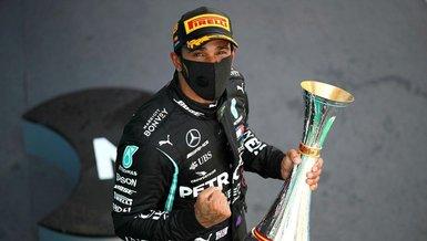 Hamilton'dan tarihi zafer! Schumacher'in rekorunu kırdı