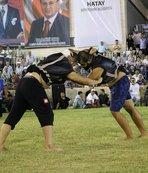 Türkiye Aba Güreşi Şampiyonası Hatay'da yapıldı