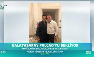Galatasaray Falcao'yu bekliyor