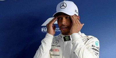 Avustralya'da pole pozisyonu Hamilton'ın