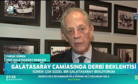 Galatasaray camiasında derbi beklentisi